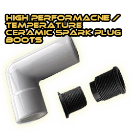 high heat ceramic ignition boot